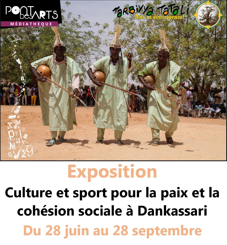 Culture et sport pour la paix et la cohésion sociale à Dankassari  |