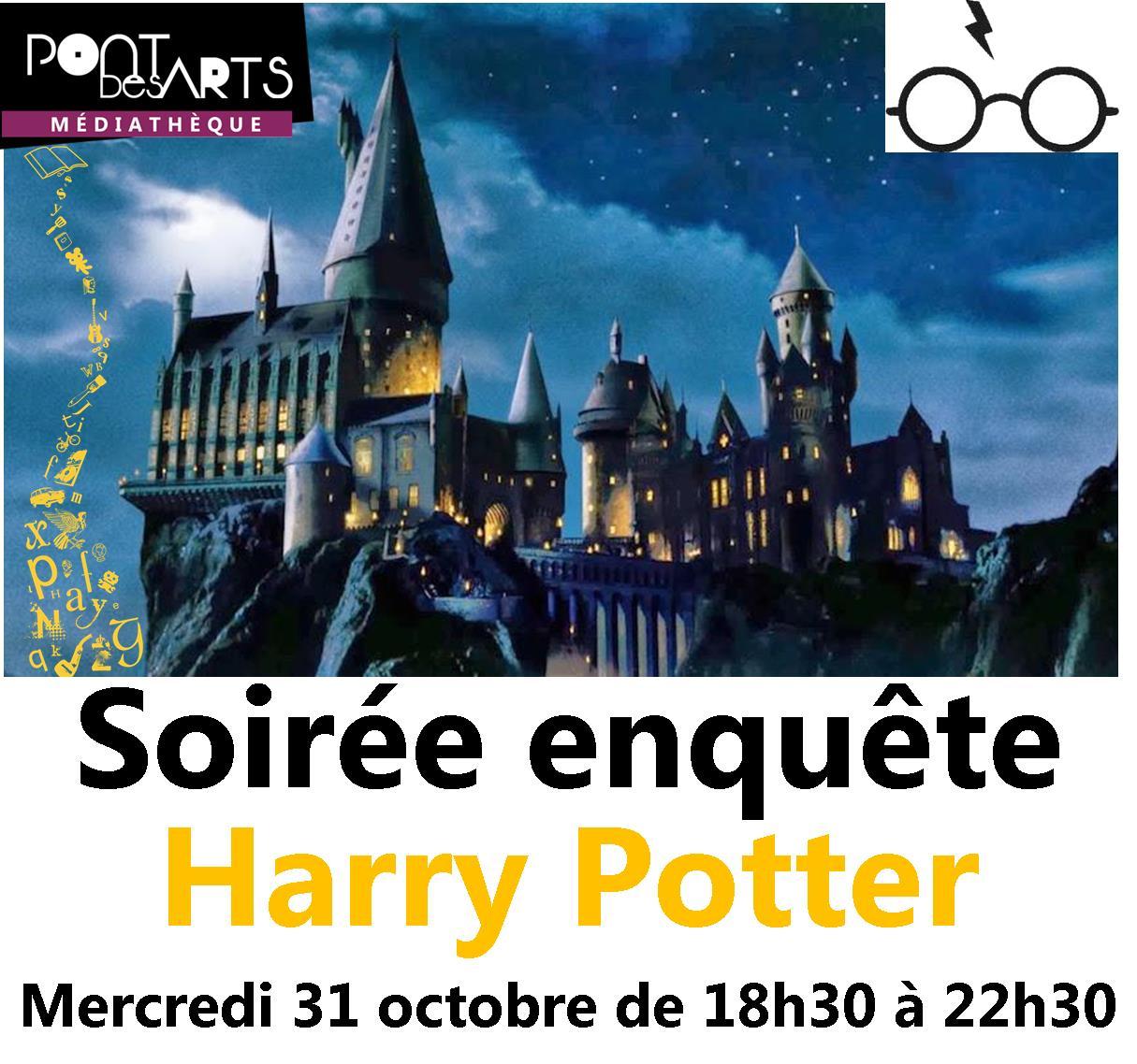 Soirée enquête Harry Potter |