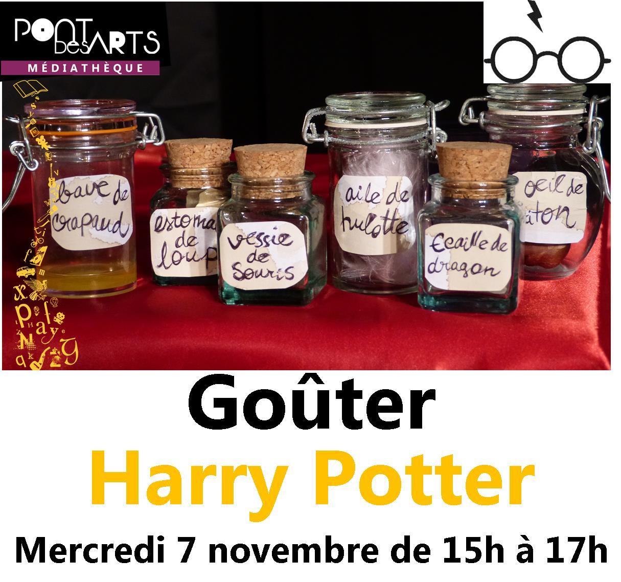 Goûter Harry Potter |