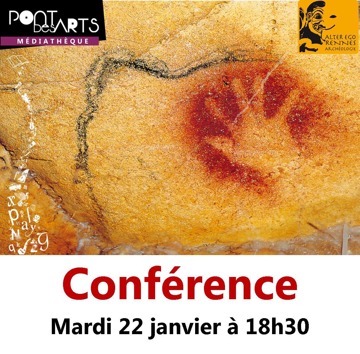 Conférence : La Préhistoire, science du temps et de l'incertitude |