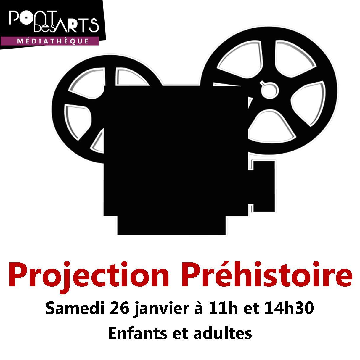 Projection de films documentaires sur la Préhistoire |