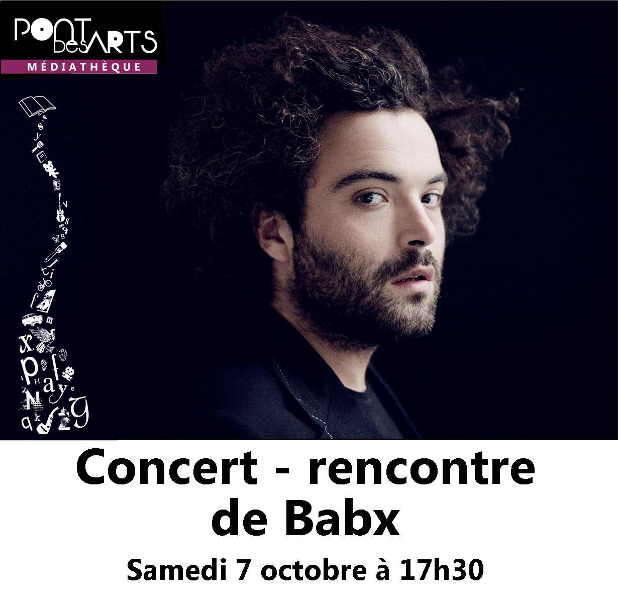 Concert et rencontre : Babx |