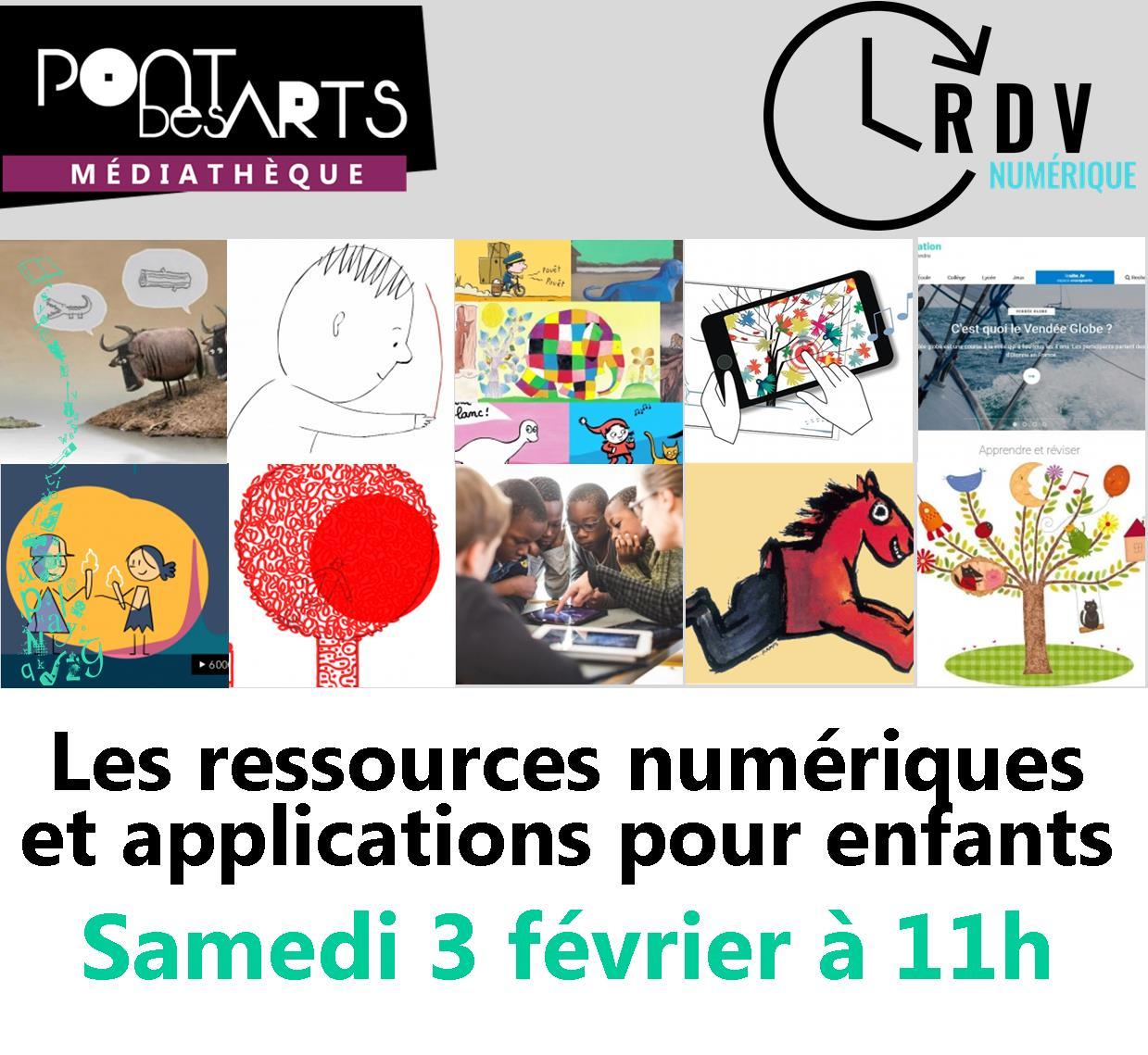 RDV numérique : les ressources et applications pour les enfants |