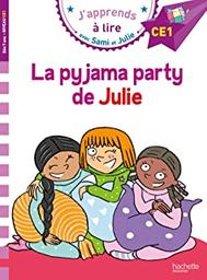 La pyjama party de Julie / texte, Emmanuelle Massonaud | Massonaud, Emmanuelle. Auteur