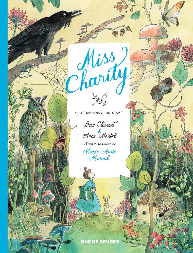 L'enfance de l'art, d'après le roman de Marie-Aude Murail. 1 / Loïc Clément   Clément, Loïc. Auteur