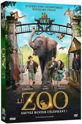 Le Zoo : d'après une incroyable histoire vraie : sauvez Buster l'éléphant ! / Colin McIvor, réal.   McIvor, Colin. Metteur en scène ou réalisateur. Scénariste