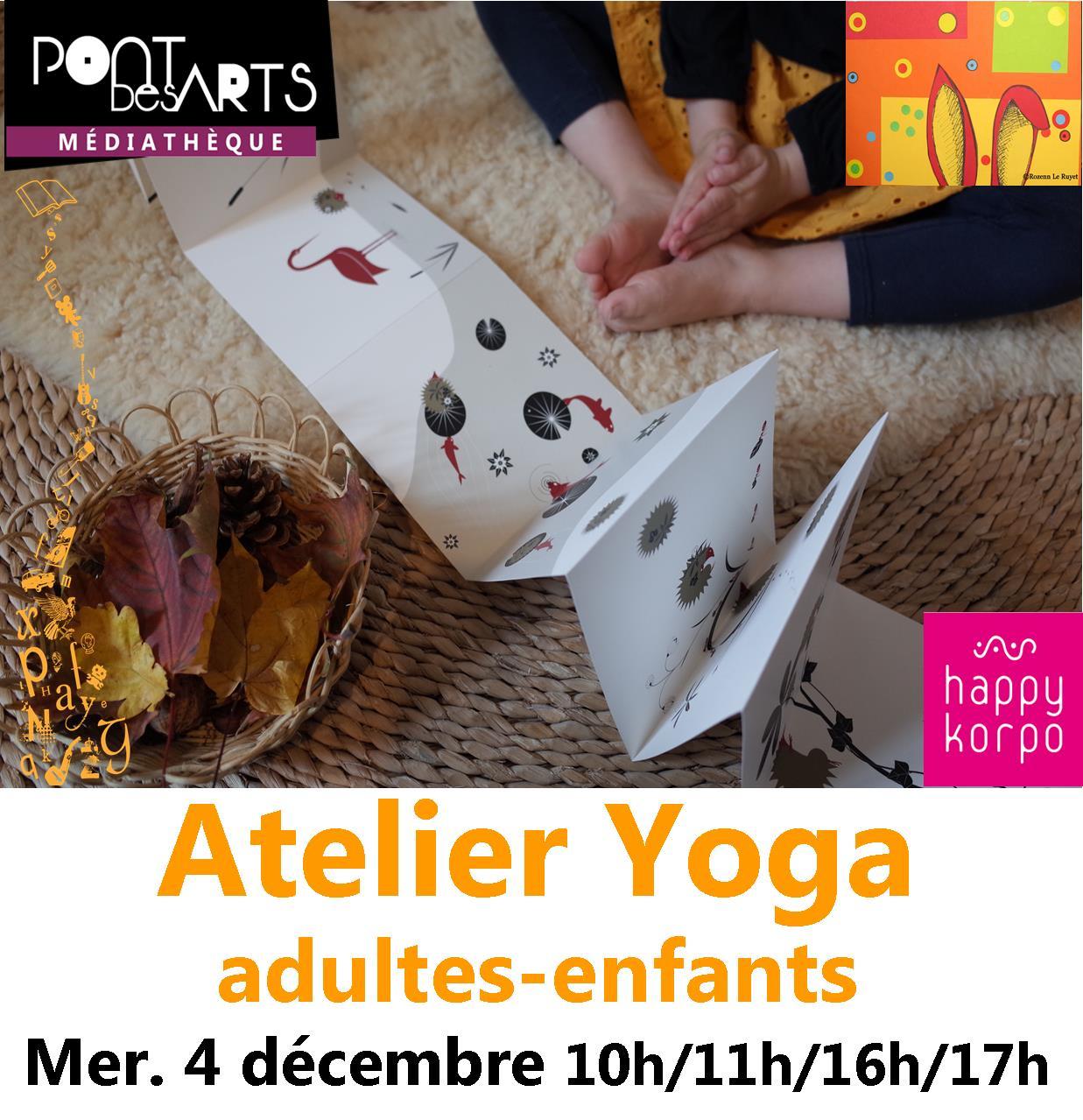Les petites Z'Oreilles : ateliers de yoga  