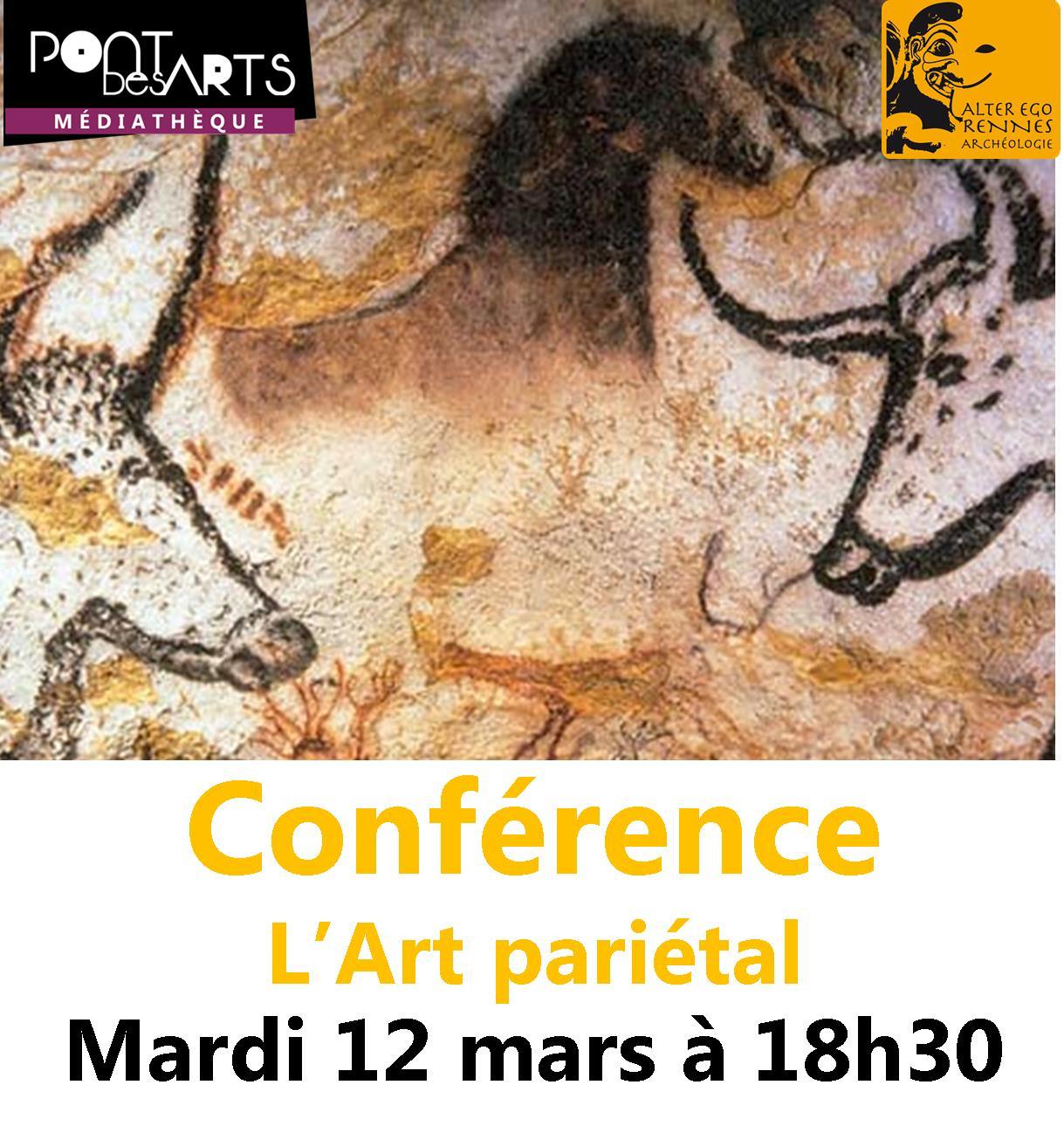 Conférence : L'art pariétal |