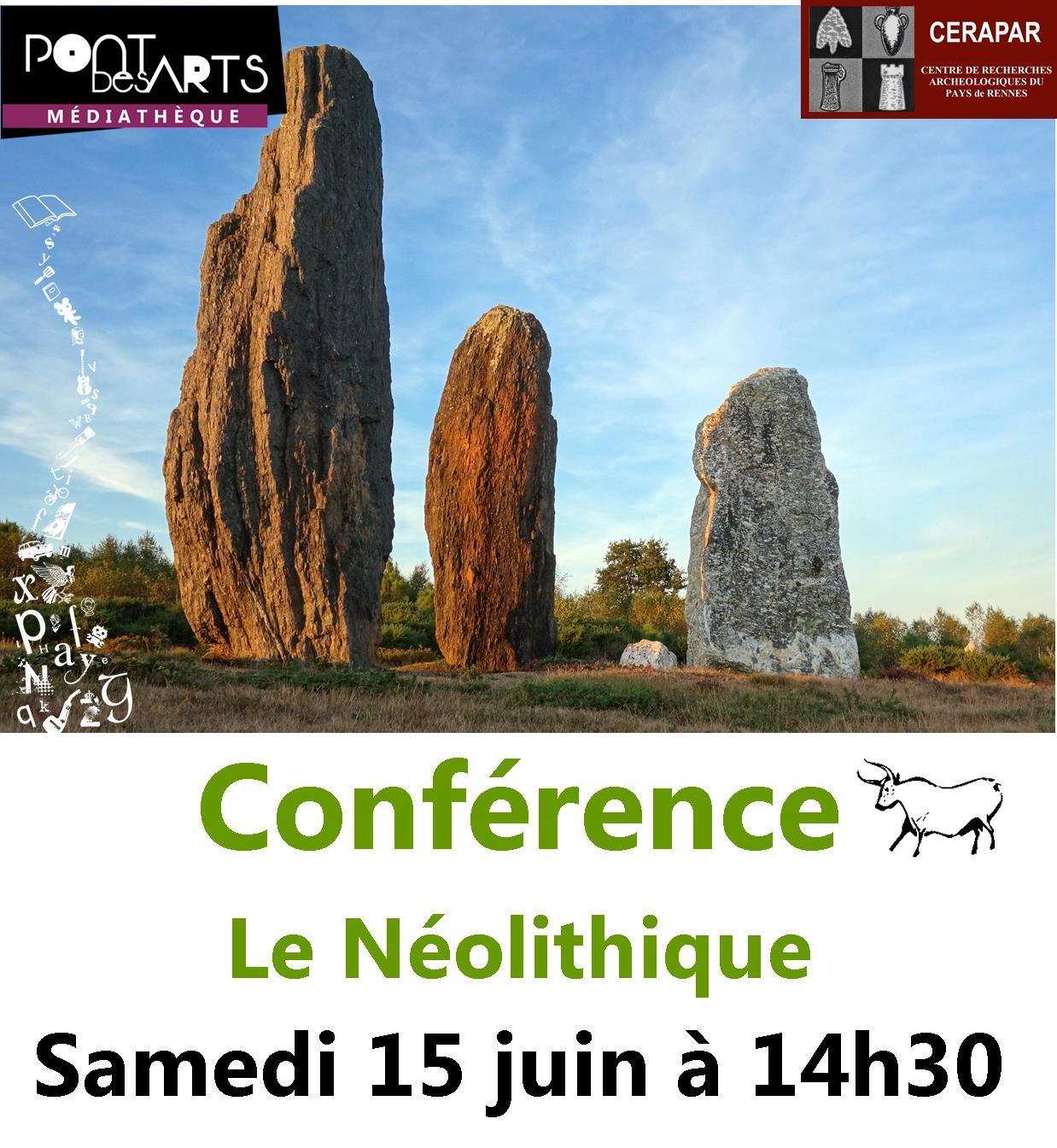 Conférence : le Néolithique, une profonde mutation dans l'histoire de l'humanité |